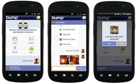 Google compra Bump chocando su cartera con la startup