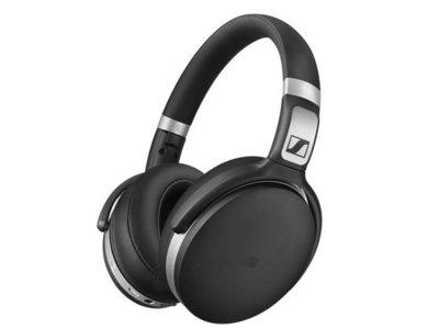 Así lucen los auriculares Sennheiser HD 4.50, una alternativa cómoda para escuchar música sin cables
