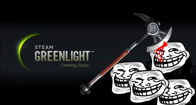 Trolls Steam Greenlight