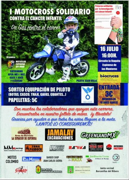 Motocross Solidario Cancer Infantil Espinosa De Los Monteros