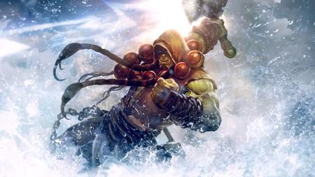 Deathseer Thrall es el Caballero de la Muerte de Chamán y parece fuerte