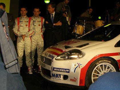 Presentación del Fiat Grande Punto Abarth S2000