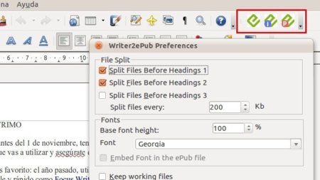 Convierte a ePub cualquier documento que abra OOo Writer con Writer2ePub