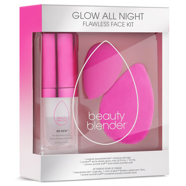 beautyblender lanza 'Glow All Night Flawless Face Kit' un set S.O.S para el verano