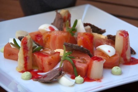 Ensalada de tomate de Carabaña