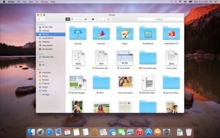 OS X Yosemite iCloud