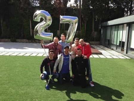 Pero cómo se lo pasa Sergio Ramos en su cumpleaños