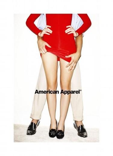 El jugueteo +18 de la nueva campaña de calzado de American Apparel