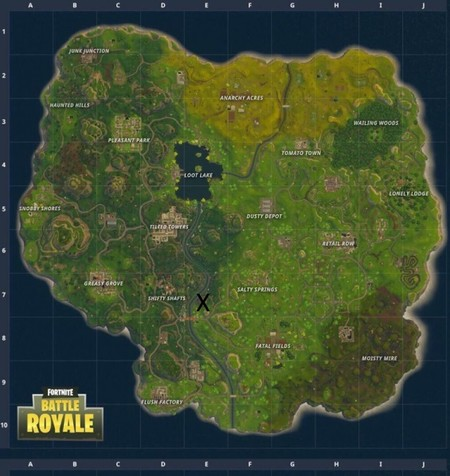 Fortnite Week 6 Location