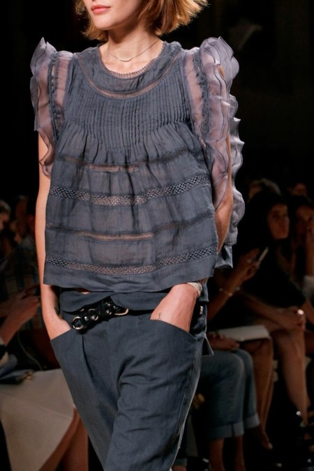 Clonados y pillados: la blusa de Isabel Marant duplicada en Mango