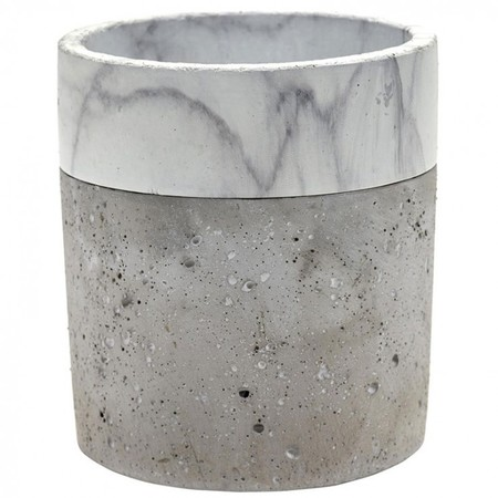Maceta Cylinder Marble Border L Er Hover Maceta Cylinder Marble Border L Er Serax
