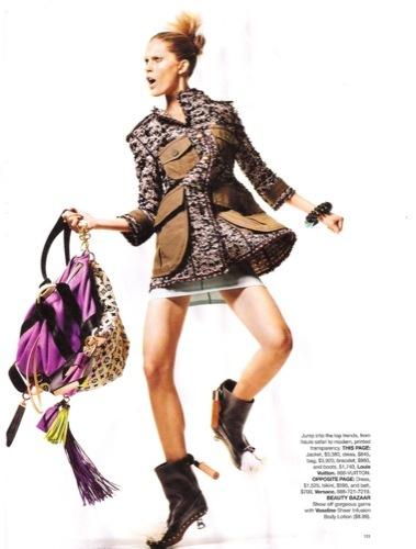 Los vestidos de moda para esta Primavera-Verano 2010. Louis Vuitton