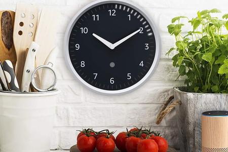 Amazon Echo Wall Clock, el reloj de pared que lleva la cuenta de los temporizadores de Alexa
