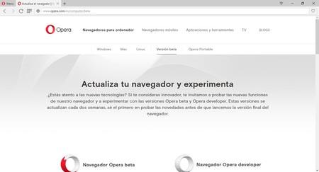 Opera 44 para desarrolladores llega con bloqueo de malware entre otras novedades