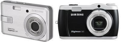 Samsung Digimax L60 y L85: megapixeles simples