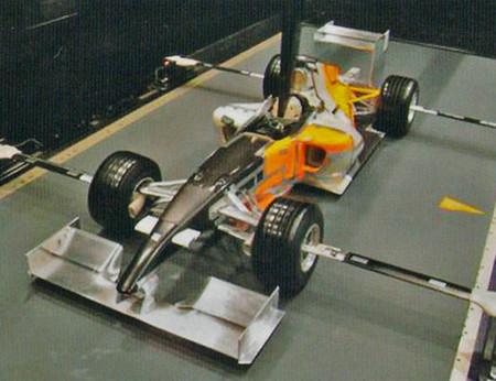 Honda RA109 Túnel de viento