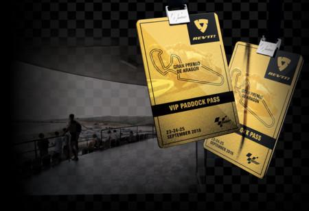 Gana unas entradas de paddock para el Gran Premio de Aragón con Rev'It!