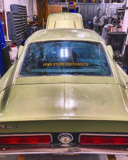 Encuentran Un Ford Mustang Shelby Gt500 1967 Abandonado 3
