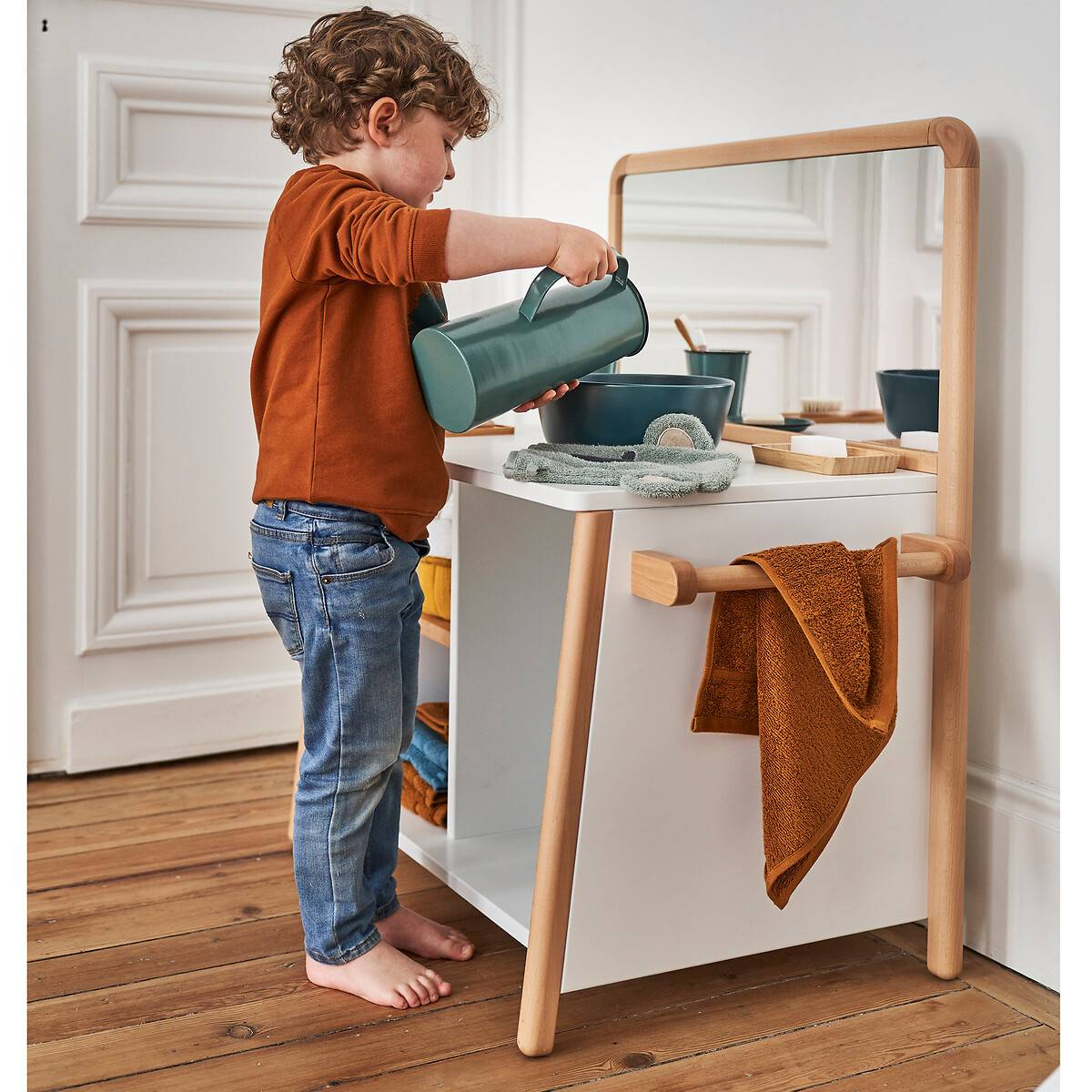 Mueble de baño Montessori