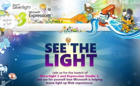 Silverlight 3 y Expression Studio 3 verán la luz en julio