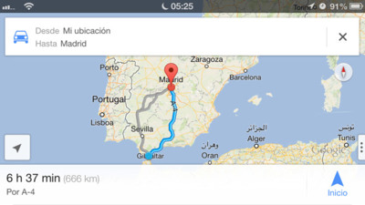 Google Maps regresa de forma triunfal a iOS