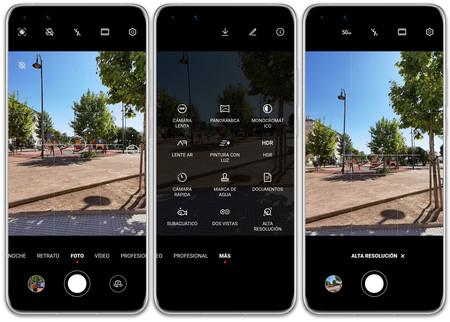 Huawei P40 Pro 06 Interfaz Camara