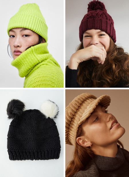 beanies gorros lana lowcost