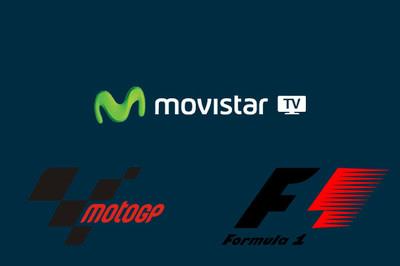 Así será la cobertura de la Fórmula1 y de MotoGP en Movistar TV
