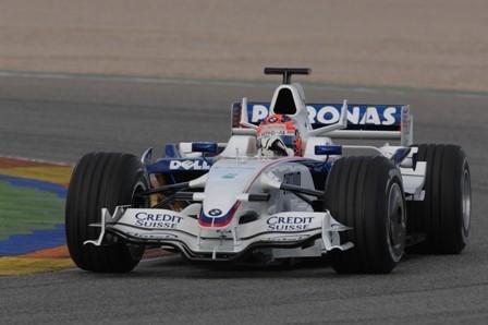 El BMW F1.08 también ha debutado ya en Cheste