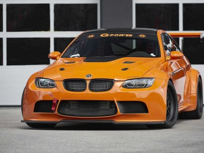 BMW M3 GT2 S Hurricane, una bestia de 720 hp creada por G-Power