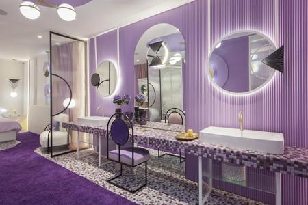 Vilolet Bliss, diseñado por Nayra Iglesias, premio al Espacio más Creativo en el Marbella Design 2019