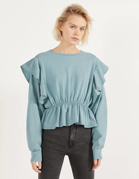 Blusas Y Tops Con Peplum