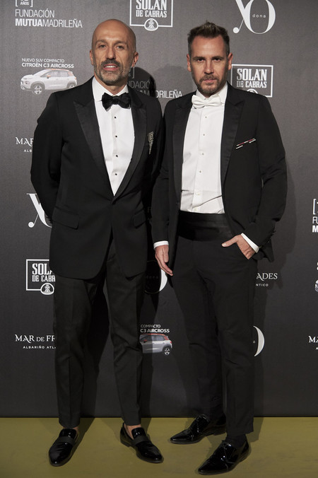 Arnaud Maillard Alvaro Castejon Red Carpet Yo Dona International Awards 2018
