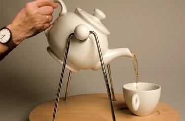 Un práctico accesorio para servir el té