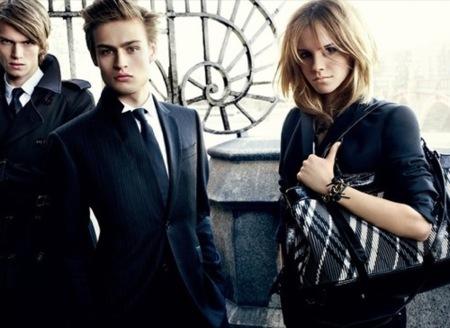 Emma Watson para Burberry Otoño-Invierno 2009/2010