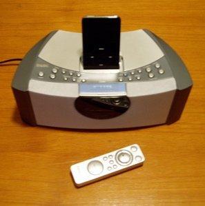 Emerson iTone C200, despertador con dock para iPod