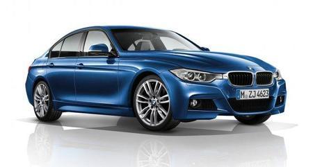 BMW Serie 3 Berlina con paquete M: llegará en marzo de 2012