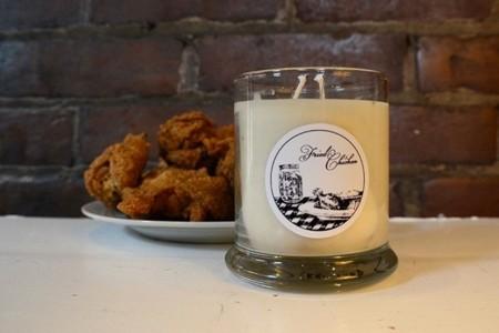 Para gustos olores y las velas de Kentucky que huelen a pollo frito