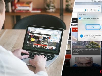 Opera anuncia un modo de ahorro de energía que promete más duración de la batería en los MacBook