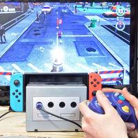 Así convirtió un fan su GameCube en un glorioso Dock para la Switch. Ojo, compatible con los mandos originales