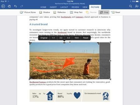 Office para iPad se actualiza, y la versión para tablets con Windows llegaría en pocos meses