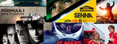 Las mejores series, películas y documentales de Netflix, Prime Video y Movistar+ con horas y horas de coches para disfrutar