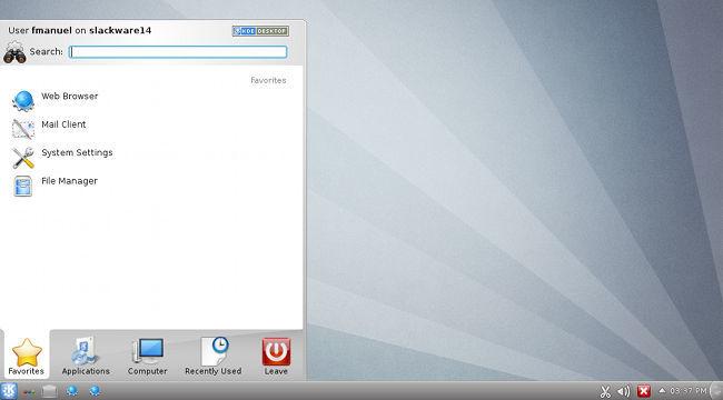 Slackware 14 con KDE
