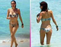 Kira Miró y su novio Dani Carbonell disfrutan de la playa