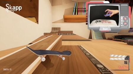 ¿Recuerdas la moda de los skate para dedos? Pues este juego pretende hacer lo mismo pero convirtiendo tu móvil en el mando