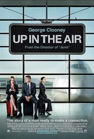 'Up in the Air' con George Clooney, carteles