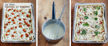 Tarta Pollo Chorizo Prep