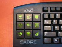 OCZ Sabre: teclado OLED por 135 dólares