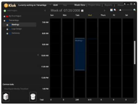 Klok, una aplicación Air para gestionar nuestro tiempo y proyectos
