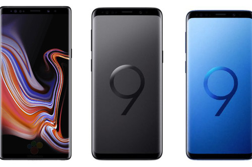 Samsung Galaxy Note 9 vs Galaxy S9 Plus vs Galaxy S9: todo está en el S Pen, la batería y el precio